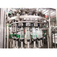 Buy cheap Carbonated Aerated Water Glass Bottle Filling Machine For Carbonated Drink Production Line from wholesalers