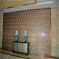 Buy cheap feature stainless steel panel metal feature screens for wall cladding or wall divider from wholesalers