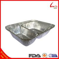 Buy cheap Two compartment Take-out Aluminum Foil Container For food Packing from wholesalers