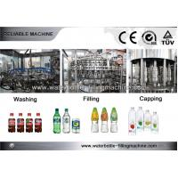 Buy cheap 3-in-1 Soda Water Carbonated Filling Machine Beverage Bottling Equipment 1200-12000bph from wholesalers