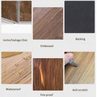 Buy cheap Residential / Commercial Vinyl Floor Tiles Fire Proof Anti - Scratch from wholesalers