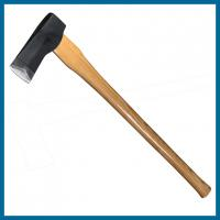 Buy cheap SM14 splitting axe with wedge, 2kg axe head weight, ash wood handle, 36 length from wholesalers