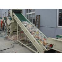 Buy cheap High Output PET Bottle Recycling Machine for Flake Cleaner Crushing Recycle from wholesalers