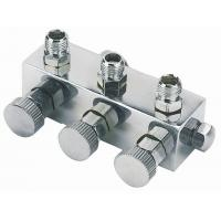 Buy cheap Anti Rust Airbrush Spare Parts 3 Port Manifold Valves Regulator A9-3 product