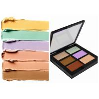 Buy cheap Private Label Organic Makeup Face Makeup Concealer Palette With 6 Colors from wholesalers