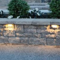 Buy cheap Low Voltage Garden Light,12V led stone light,led Retaining wall light, led hardscape light from wholesalers