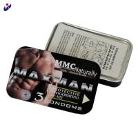 Buy cheap 10000pcs coffee flavored plain condoms with Maxman brand from wholesalers