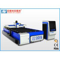 Buy cheap IPG Fiber 3mm Stainless Steel Laser Cutting Machine , 500 Watt Sheet Metal Cutter from wholesalers
