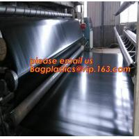 Buy cheap geomembrane dam liner/ HDPE reinforced hdpe geomembrane fish farm pond liner for sale,dam liner 1mm hdpe geomembrane PAC from wholesalers