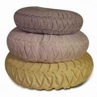 Buy cheap Cushions with Cotton Shell and Polyester Filling, Available in Various Designs product