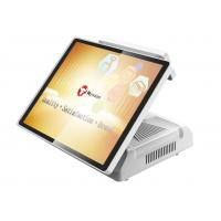 15 Inch  Capacitive Touch Screen Pos System HM70 With VFD Customer Display