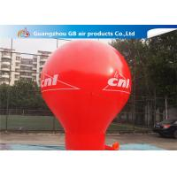 Buy cheap Pormotion Activity Red Inflatable Montgolfier Hot Air Floor Balloon from wholesalers