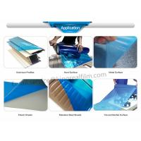 Buy cheap PE Blue Self Adhesive Protective Film(For Mable surface, plastic sheet,metal surface,Aluminum profiles,Hard surface) from wholesalers