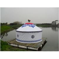 Buy cheap Anti - Ultraviolet Mongolian Yurt Tent With Thickening Acupuncture Cotton from wholesalers