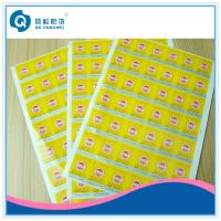 Buy cheap Brand Protection A4 Self Adhesive Labels For Glass Bottle , Pantone Color from wholesalers