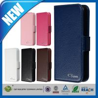 Buy cheap C&T removable pure color leather cover for iphone 5 from wholesalers