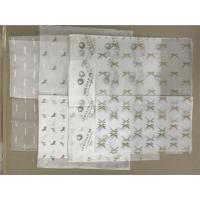 Buy cheap Gauzy Custom Wrapping Paper , Bio Degradable White Wrapping Paper Roll product