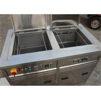 Buy cheap Double Tanks Ultrasonic Cleaning Machine , Auto Ultrasonic Cleaner For Car Parts Degrease from wholesalers