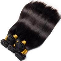 Buy cheap Double Weft Straight Virgin Human Hair Bundles 8A Grade Free Tangle No Shedding product