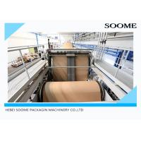 Buy cheap Corrugated Paper Sheets Carton Production Line Electric Driven Type 380V / 50HZ from wholesalers