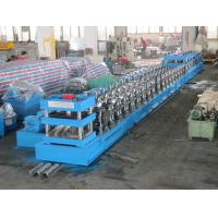Buy cheap Three Wave Guardrail Forming Machine PLC Roll Forming Line With Single Unrolling Machine from wholesalers