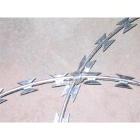 Buy cheap Cbt- 65 Razor Barbed Wire Hot Dipped Galvanized Stainless Steel High Security from wholesalers