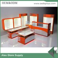 Buy cheap Customized mobile phone shop furniture with glass display counter shop interior design from wholesalers