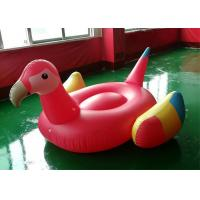 Buy cheap 225*210*95cm Inflatable Water Pool Red Parrot Raft Float WF-72 from wholesalers
