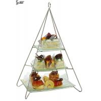Buy cheap Stainless Steel Vintage 3 Tier Cake Stand For Hotel / Restaurant from wholesalers