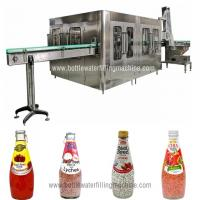 Buy cheap Glass Bottle Filling Machine, Small Juice Production Machinery, Making Plant from wholesalers