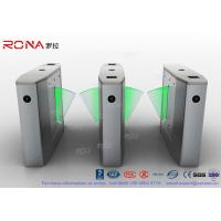 Buy cheap Stainless Steel Heavy Duty Flap Barrier Gate Automatic Turnstiles For Public Facility product