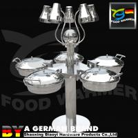 Buy cheap Electric Buffet Carving Station Stainless Steel 304 Stem Rotating Design Mirror Finished from wholesalers