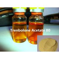 Buy cheap Bodybuilding Injectable Trenbolone Acetate 80mg/ml Yellow Liquid Semi Finishied Steroids Oils from wholesalers