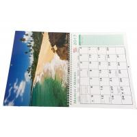 Buy cheap Spiral Binding Hanging Art Paper Wall Calendars Full Color Printing For Company from wholesalers