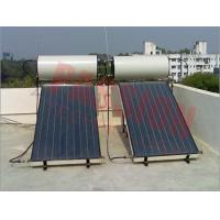 Buy cheap Integrated Colored Steel Blue Titanium Flat Panel Solar Water Heater For Pitched Roof from wholesalers