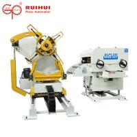 Buy cheap 3 In 1 Pneumatic Nc Press Coil Feeder Straightener Uncoiler Machine from wholesalers