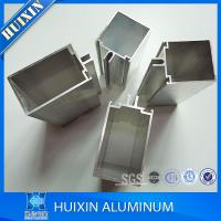 Anodized Aluminum Curtain Wall : Endring and solid anodized matt silver aluminum curtain