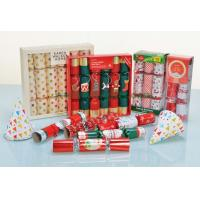 Buy cheap Wholesale Products Party Popper Bon Bons Decorated Christmas Cracker With Small Gifts from wholesalers
