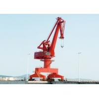 Buy cheap High Efficiency Outdoor Yard Port Gantry Crane , Electric 25 Ton Cantilever Gantry Crane from wholesalers