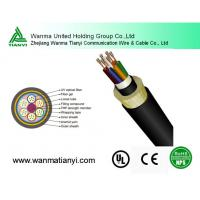 Buy cheap Aramid Yarn Span 300m ADSS Optical Fiber Cables ADSS product
