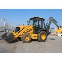 Buy cheap Compact Tractor Loader Backhoe , Front End Loader Backhoe With Cummins Engine from wholesalers