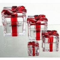 Buy cheap Glass Storage Canisters for Desserts, Used for Promotional Gift/Premium, OEM Orders are Welcome from wholesalers
