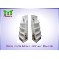 Buy cheap 4 Tiers Custom cardboard displays for Pet Accessories , cardboard shelf display from wholesalers
