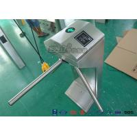 Buy cheap 2016 Semi - Automatic Vertical Tripod Turnstile Gate / Turnstile Security Gates / Security Arm Barrier Tripod product