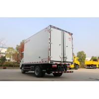 Buy cheap 13.9 CBM 4x2 Size Refrigerated Utility Trailer , Refrigerated Delivery Truck With 115HP EURO IV from wholesalers