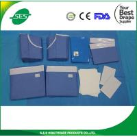 Buy cheap Disposable Sterile Surgical Universal Drape Pack with gown from wholesalers