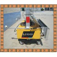 Buy cheap Ready Mix Mortar Spray Render Machine Three Phase For Clay Wall from wholesalers