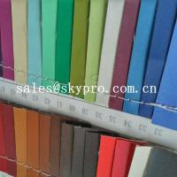 Buy cheap High Quality PU Synthetic Leather Material For Shoes with Crumpled Pattern from wholesalers