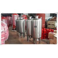 Buy cheap Thermal Expansion Diaphragm Pressure Tank , Fire Sprinkler Water Storage Tanks product