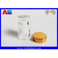 Buy cheap Recycle Pharmacy Prescription Clear Pill Bottles / Tablet Plastic Pots To Install 100 Tablets from wholesalers